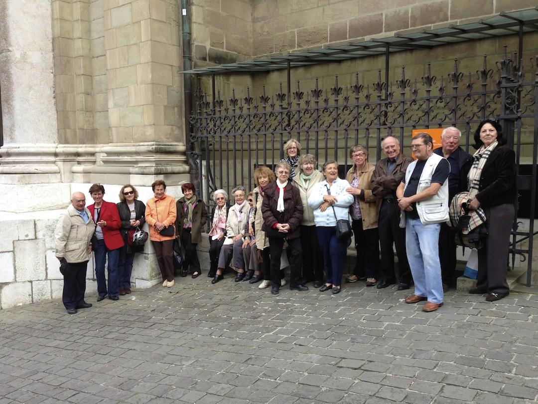 Nous étions une vingtaine à découvrir l'Histoire de Genève par ses dessous. Une remontée extraordinaire dans le temps. A refaire !